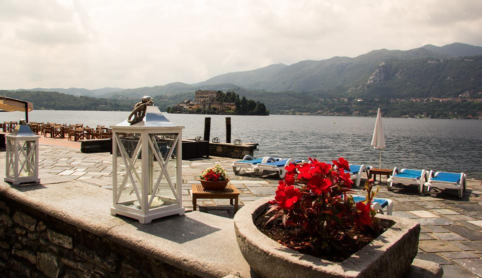 views of Island of San Giulio