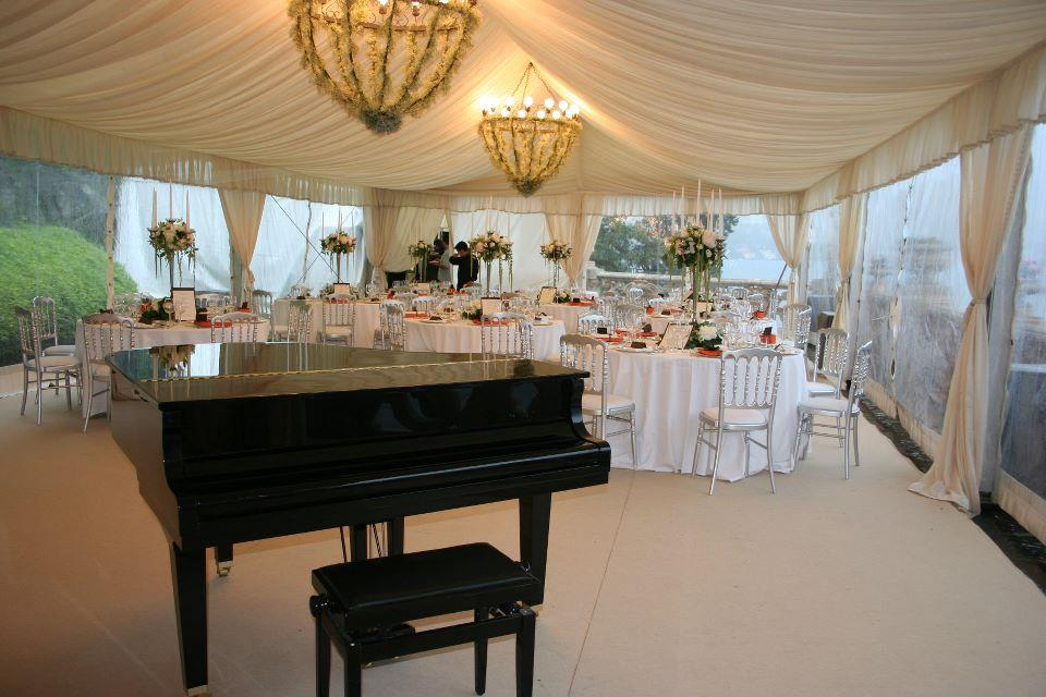 wedding at Villa del Balbianello
