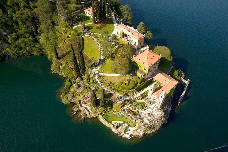 Villa del Balbianello view