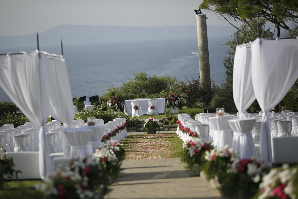 Symbolic wedding in Sorrento