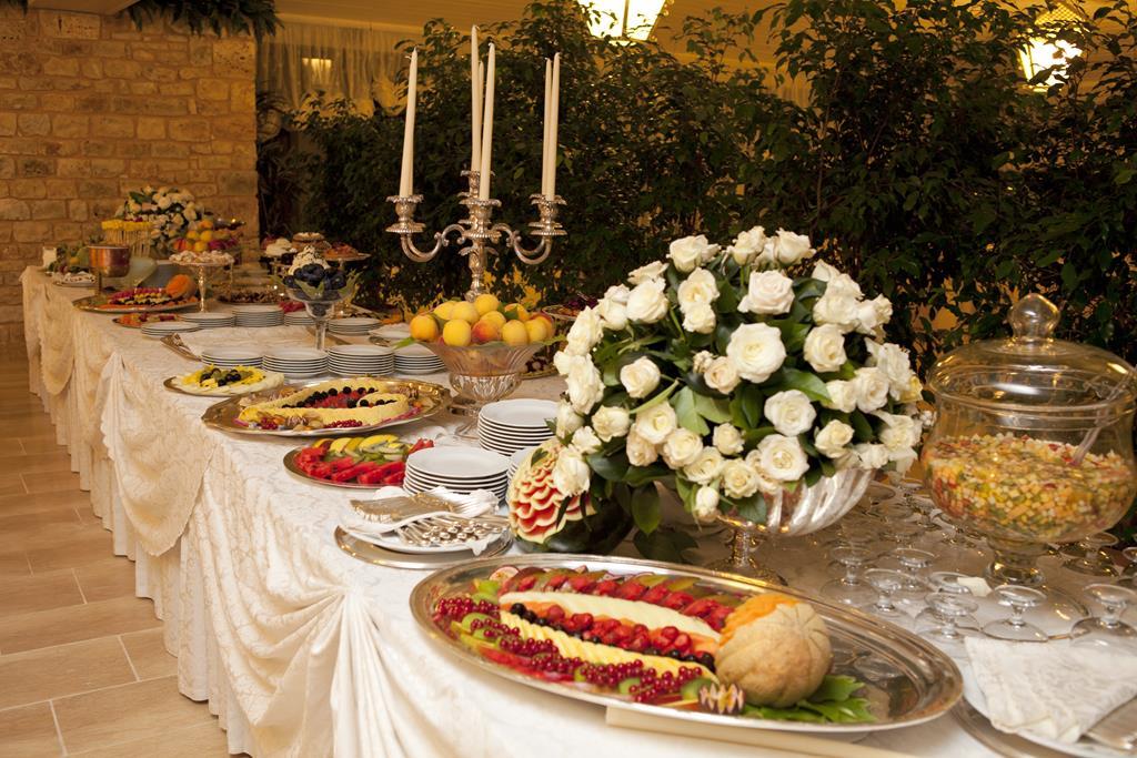 Buffet of desserts