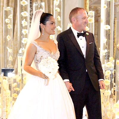 Salma Hayek wedding