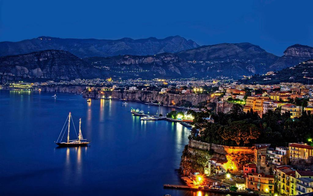 Sorrento by night