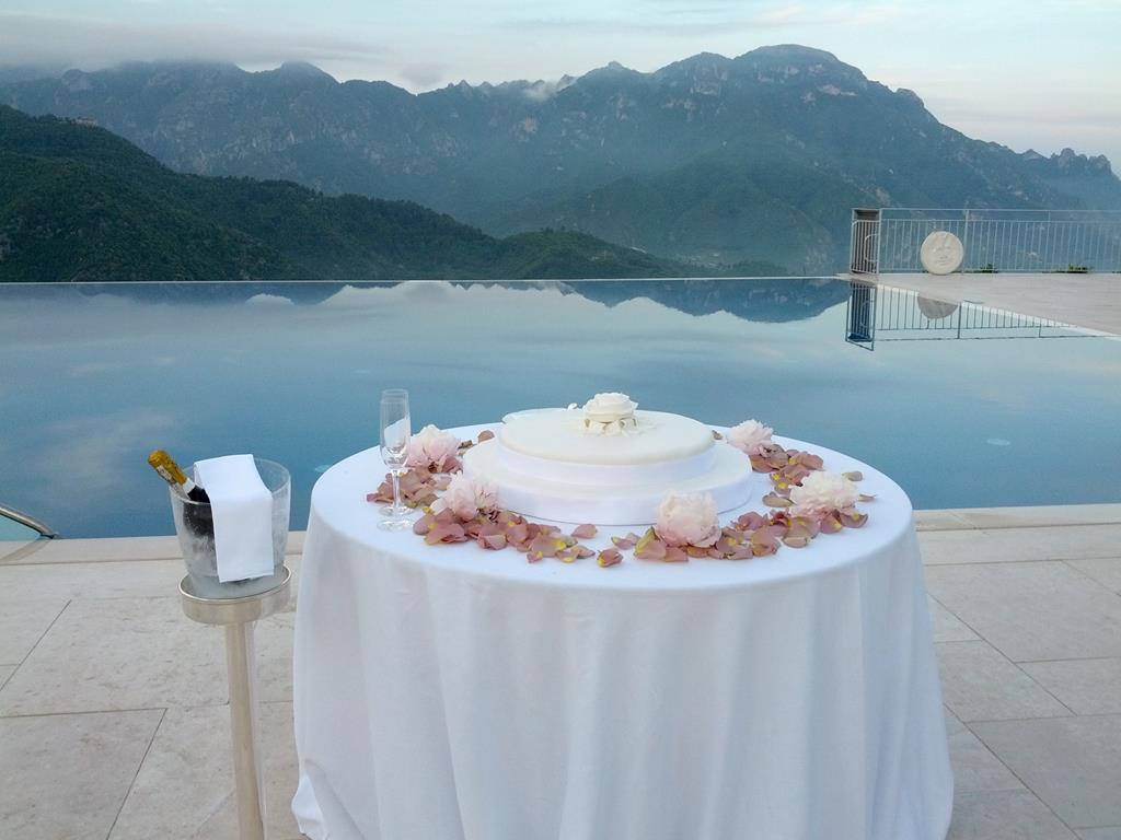 Wedding in Ravello cake