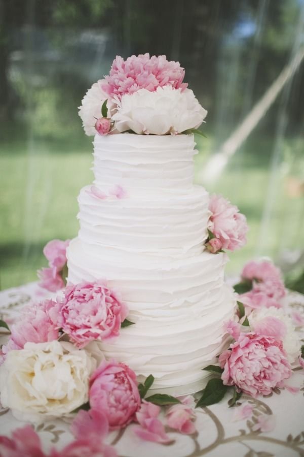 No Wedding Cake No Party Bellissimo Wedding - Peony Wedding Cake