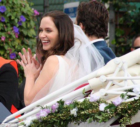 Emily Blunt wedding